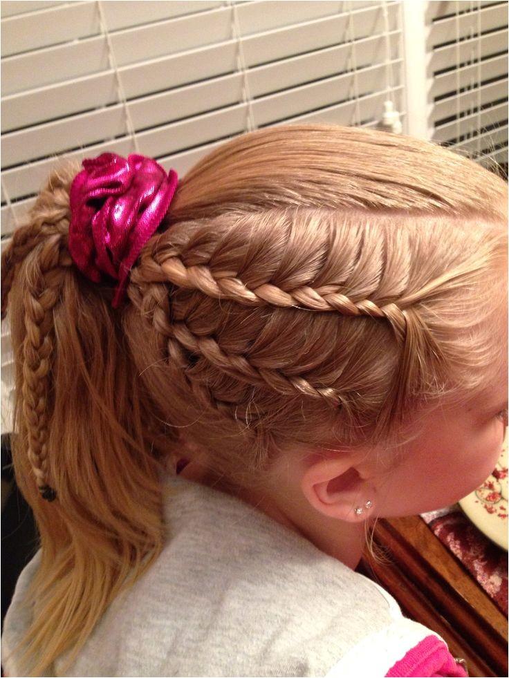 easy gymnastics meet hairstyles