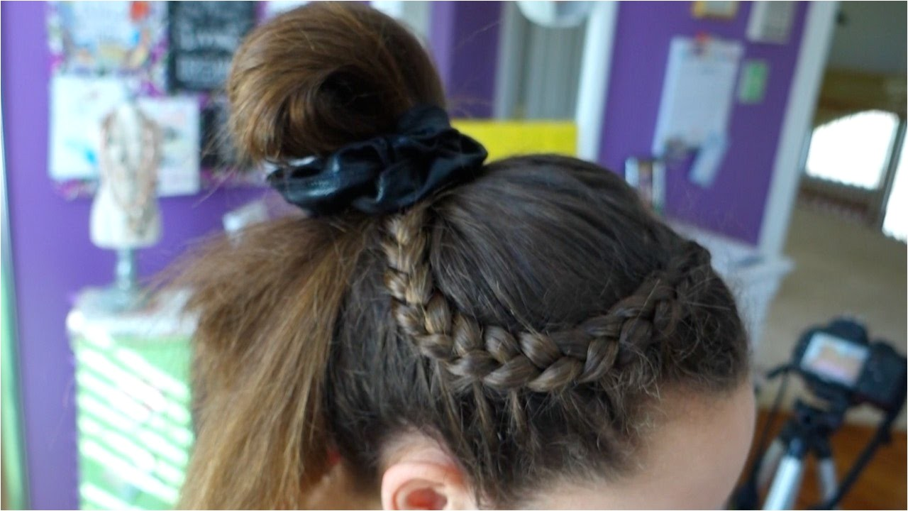 Easy Gymnastics Meet Hairstyles 4 Hairstyle Ideas for Gymnastics Everyday Gymnastics