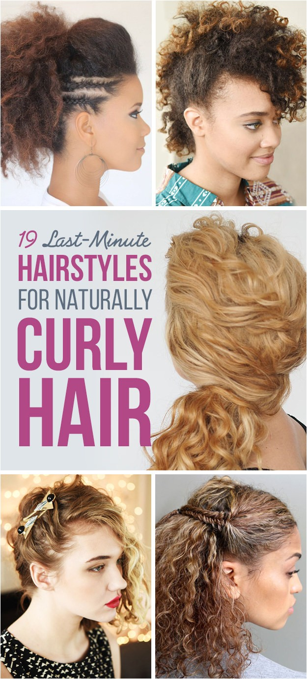 Easy Hairstyles Buzzfeed 19 Naturally Curly Hairstyles for when You Re Already