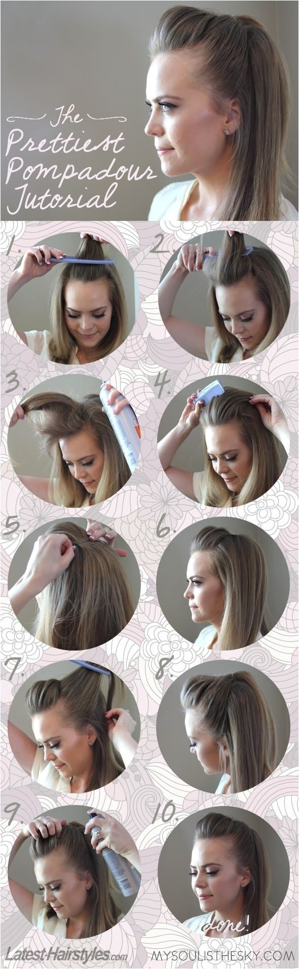 five minute hairstyles for busy mornings