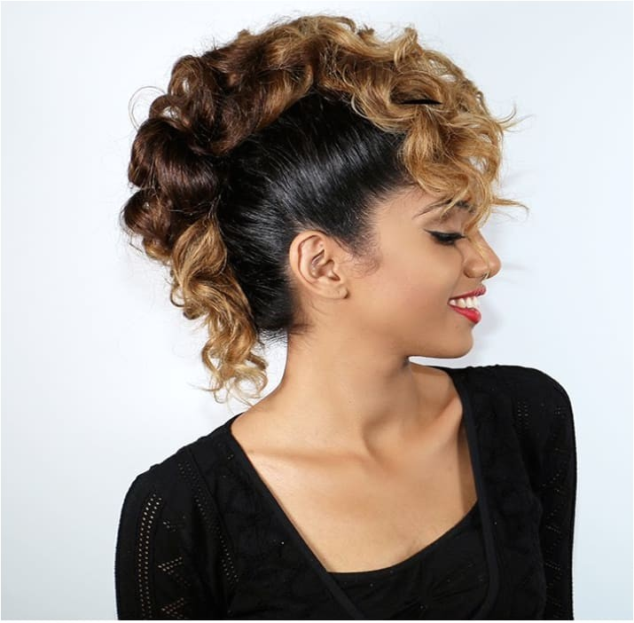 easy hairstyles for curly hair buzzfeed