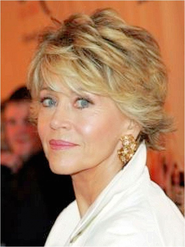 short hairstyles over 50 year old woman