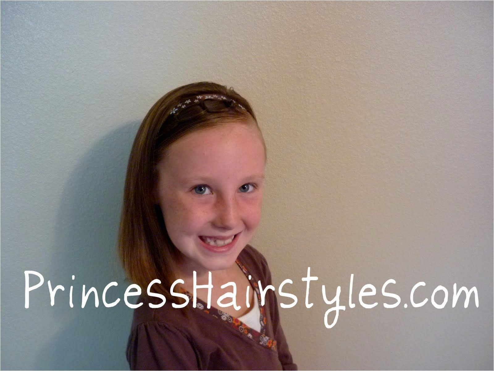 cute easy hairstyles for 8 year olds