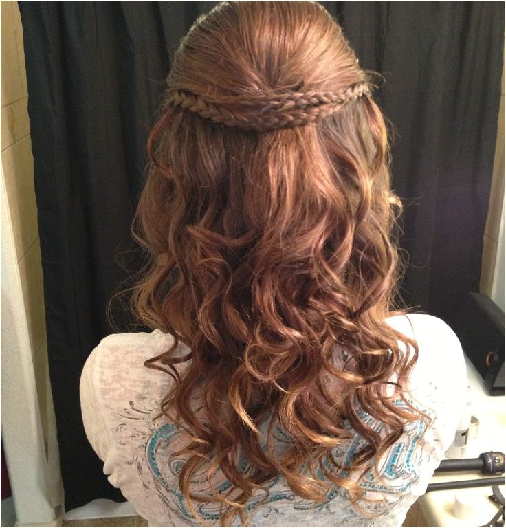 cute easy hairstyles for school dances
