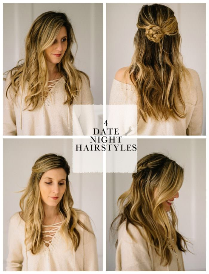 4 easy date night hair styles for busy moms