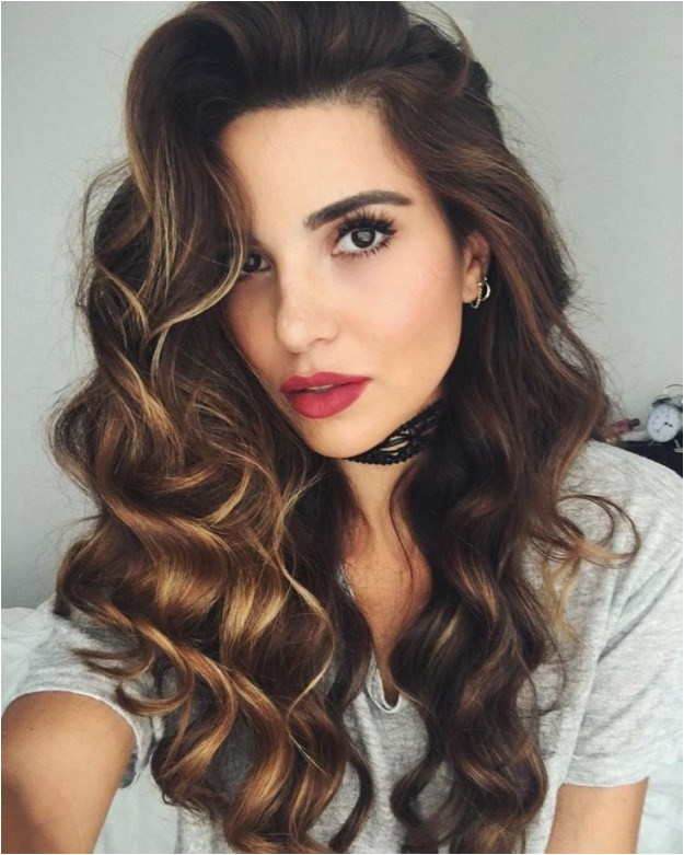 curls hairstyles for night out
