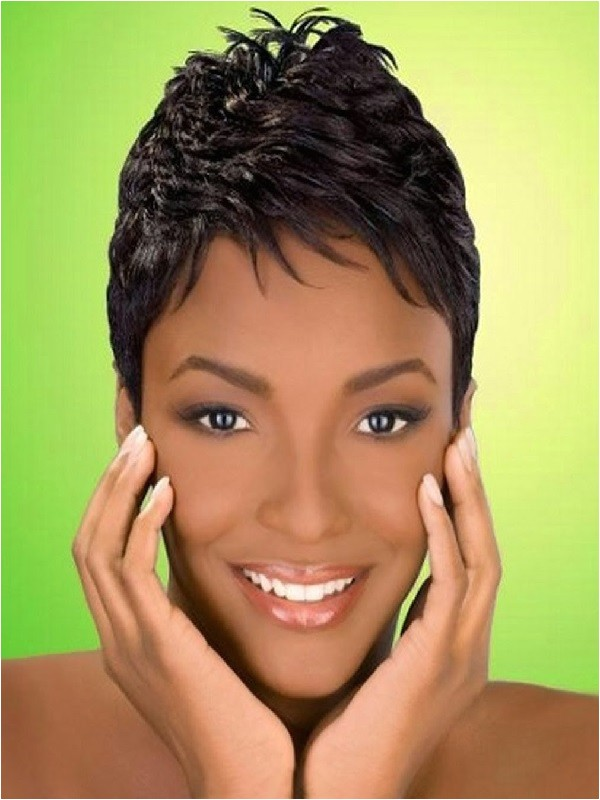 cute short hairstyles for black females 2017