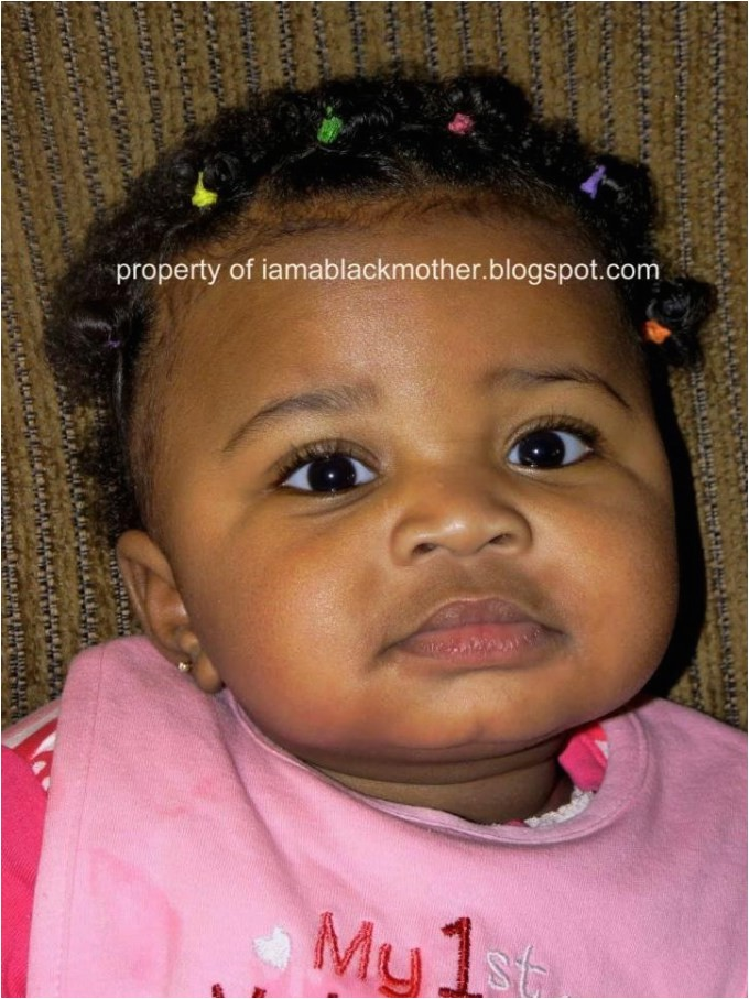 easy black baby hairstyles
