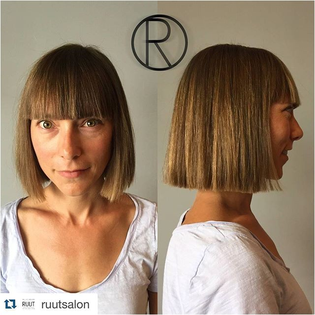 blunt bob haircuts short medium bob hair ideas