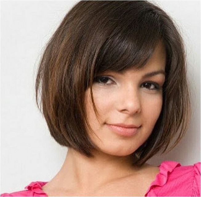 Easy Hairstyles for Bobs 30 Beautiful Hairstyles for Round Faces