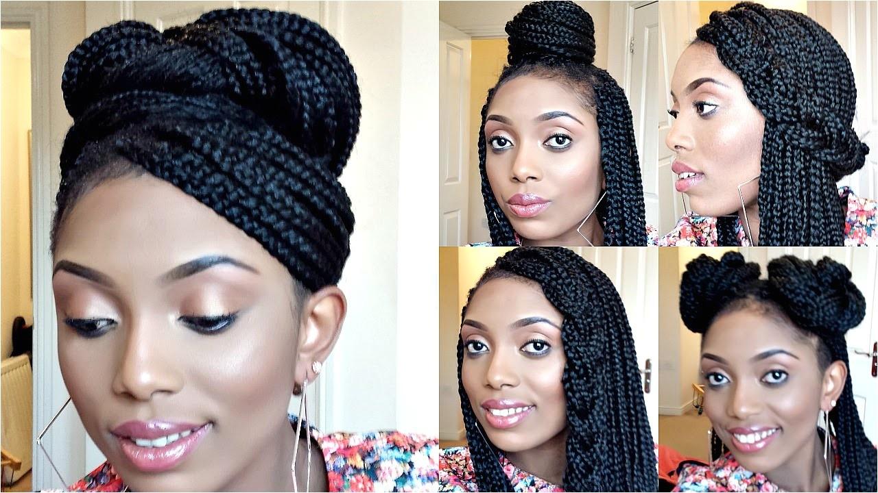 african american hairstyles box braids cornbraids