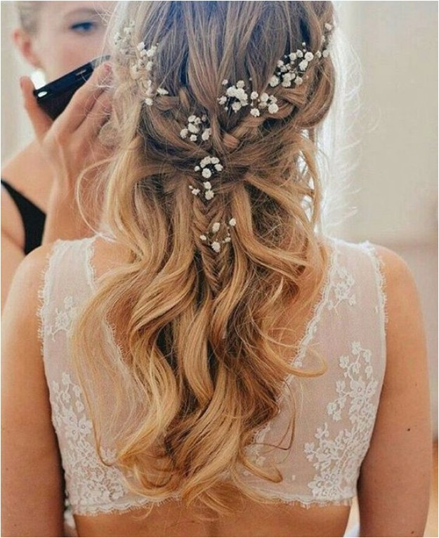 bridesmaid hairstyles wedding