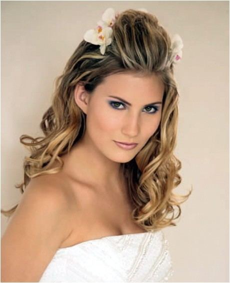Easy Hairstyles for Brides Easy Wedding Hairstyles Long Hair