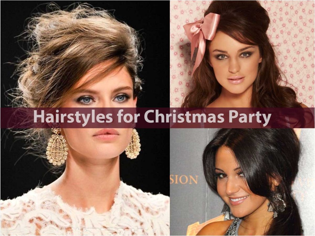 hairstyles christmas party easy hairstyles