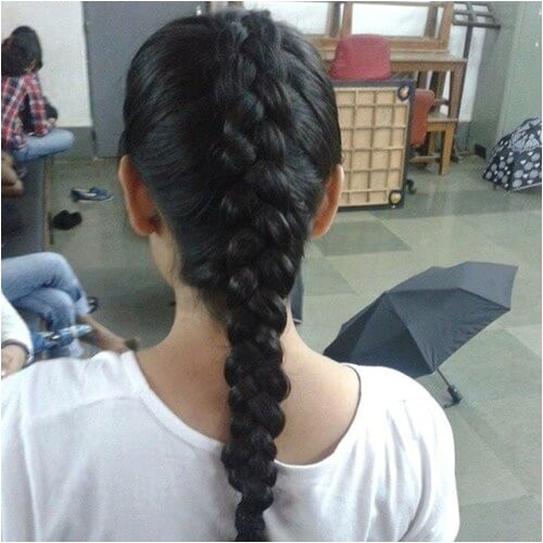 simple indian college hairstyles