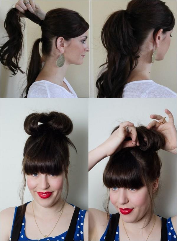 fishbone braided ponytail tips