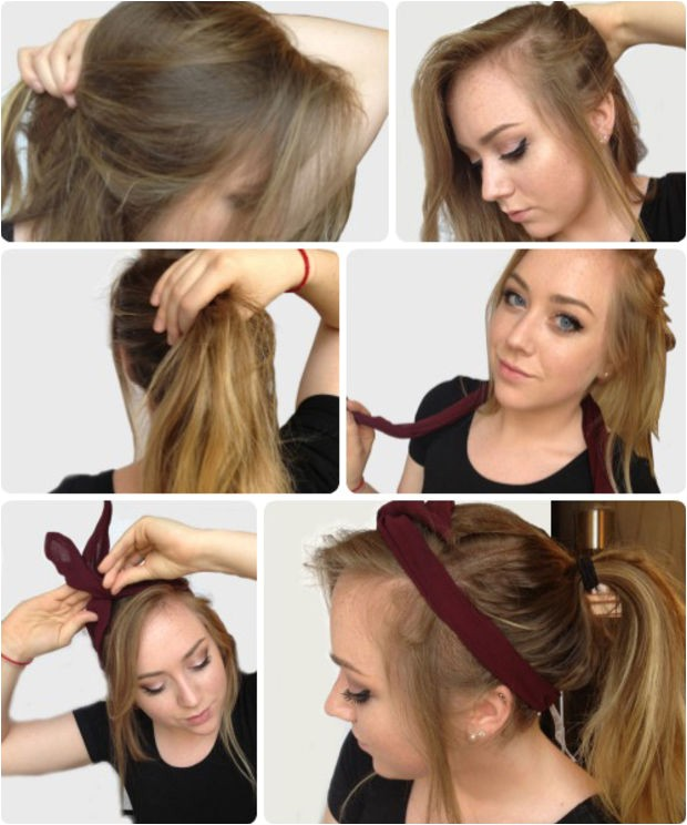 ideas to make exclusive step by step hairstyle for college look