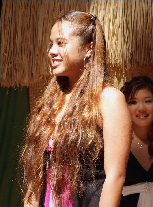 teenagers cute easy hairstyles for long curly hair