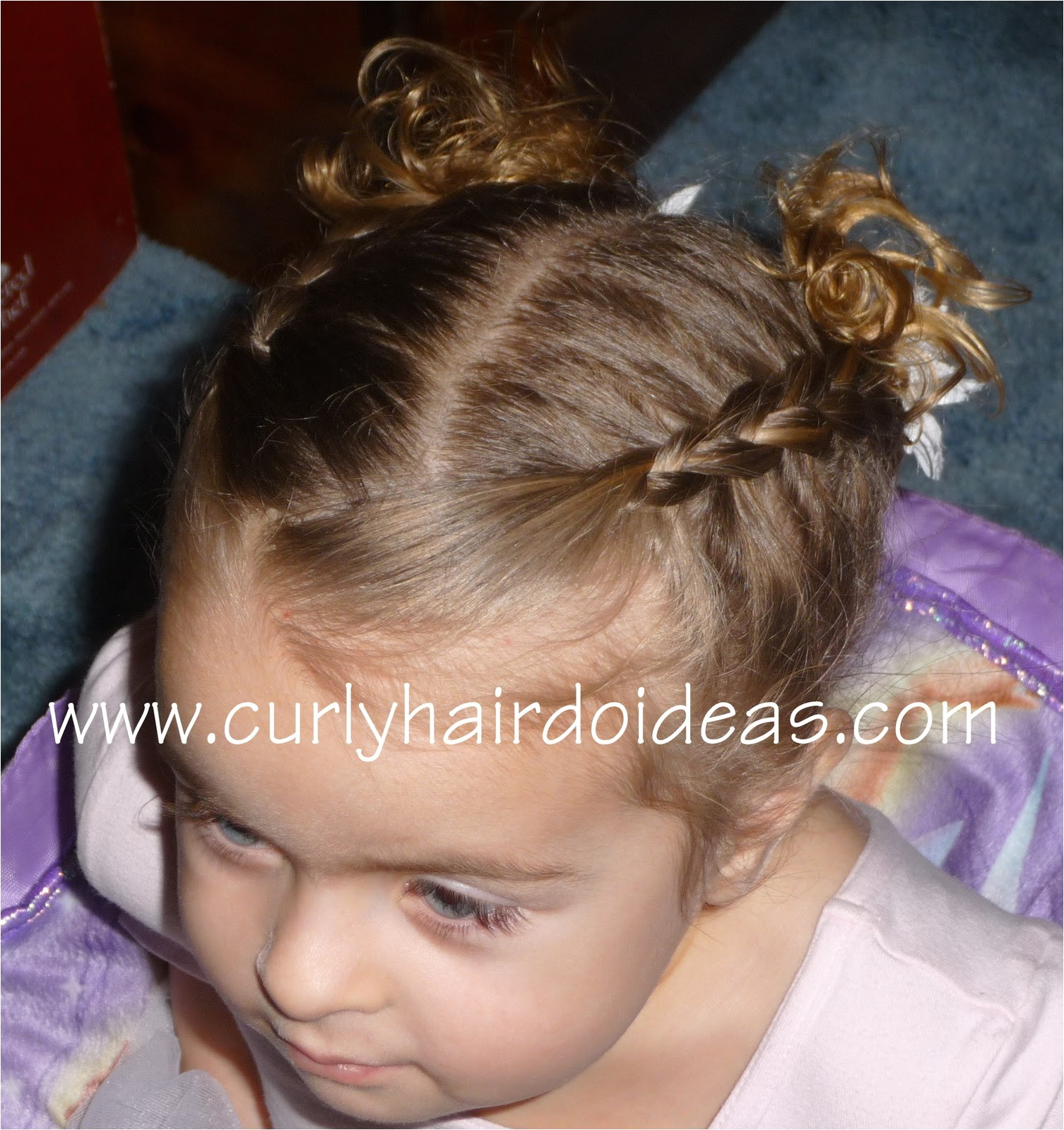 toddler dance hairstyle