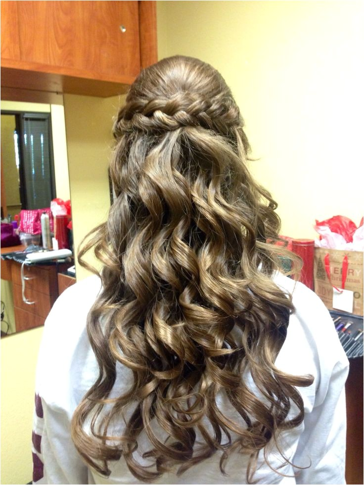 cute hairstyles for middle school dance