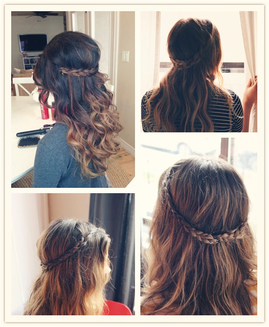 5 hairstyles for holiday with 20 inch hair extensions blog83