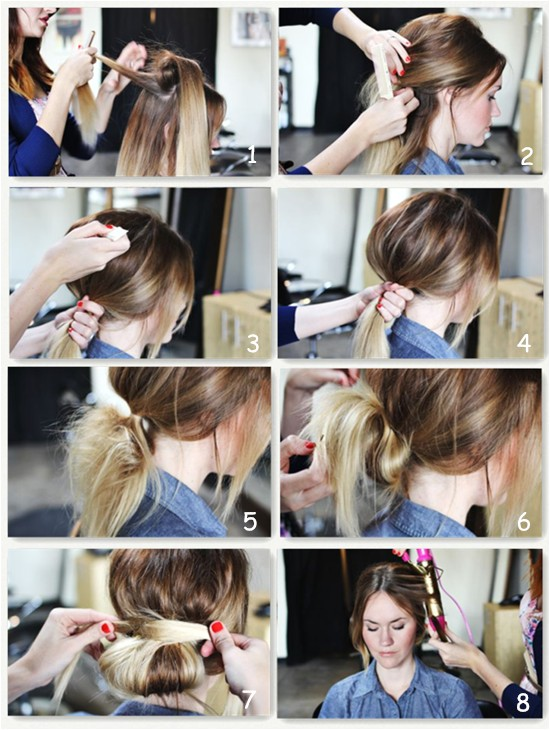 brown hair extensions can make 5 simple hairstyles for daily life blog99