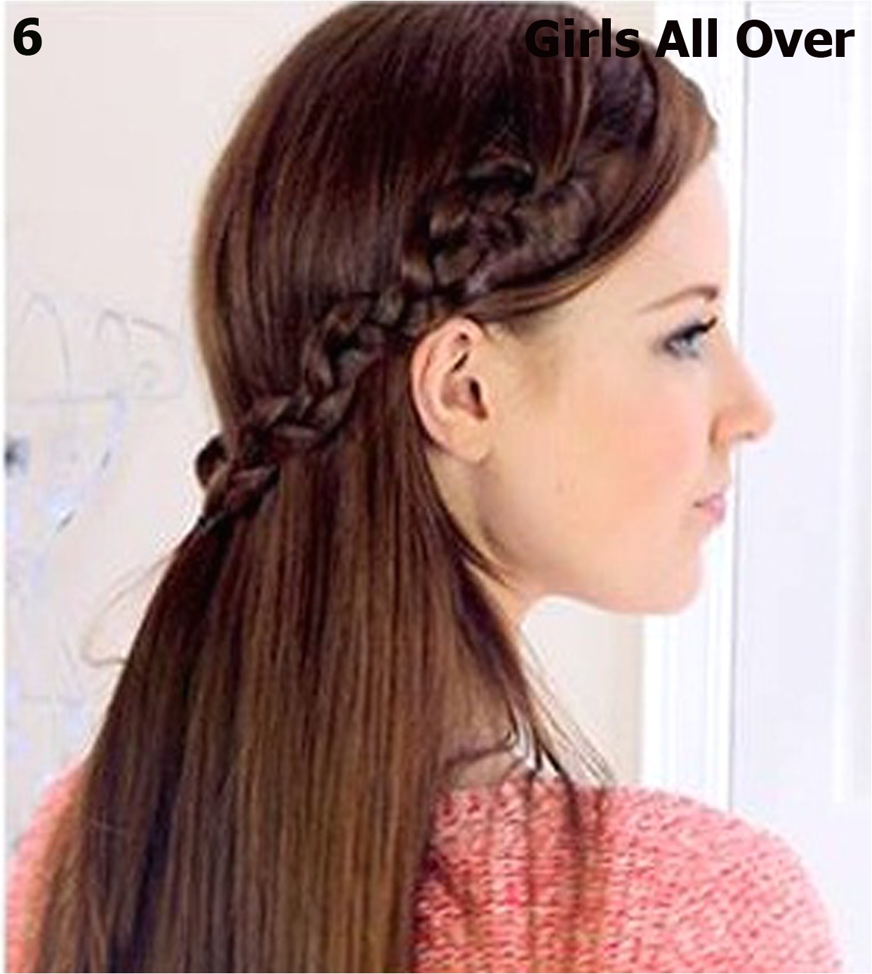 simple hairstyles for very long hair 2