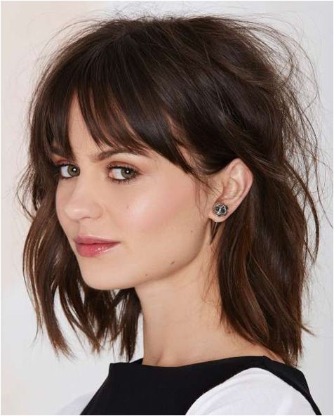 hairstyles for long hair with fringe to have