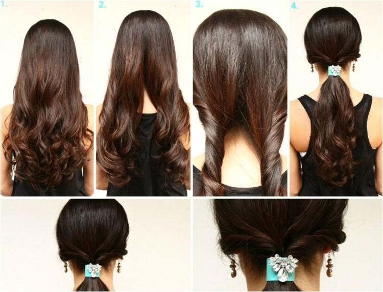 coiffure facile faire idees