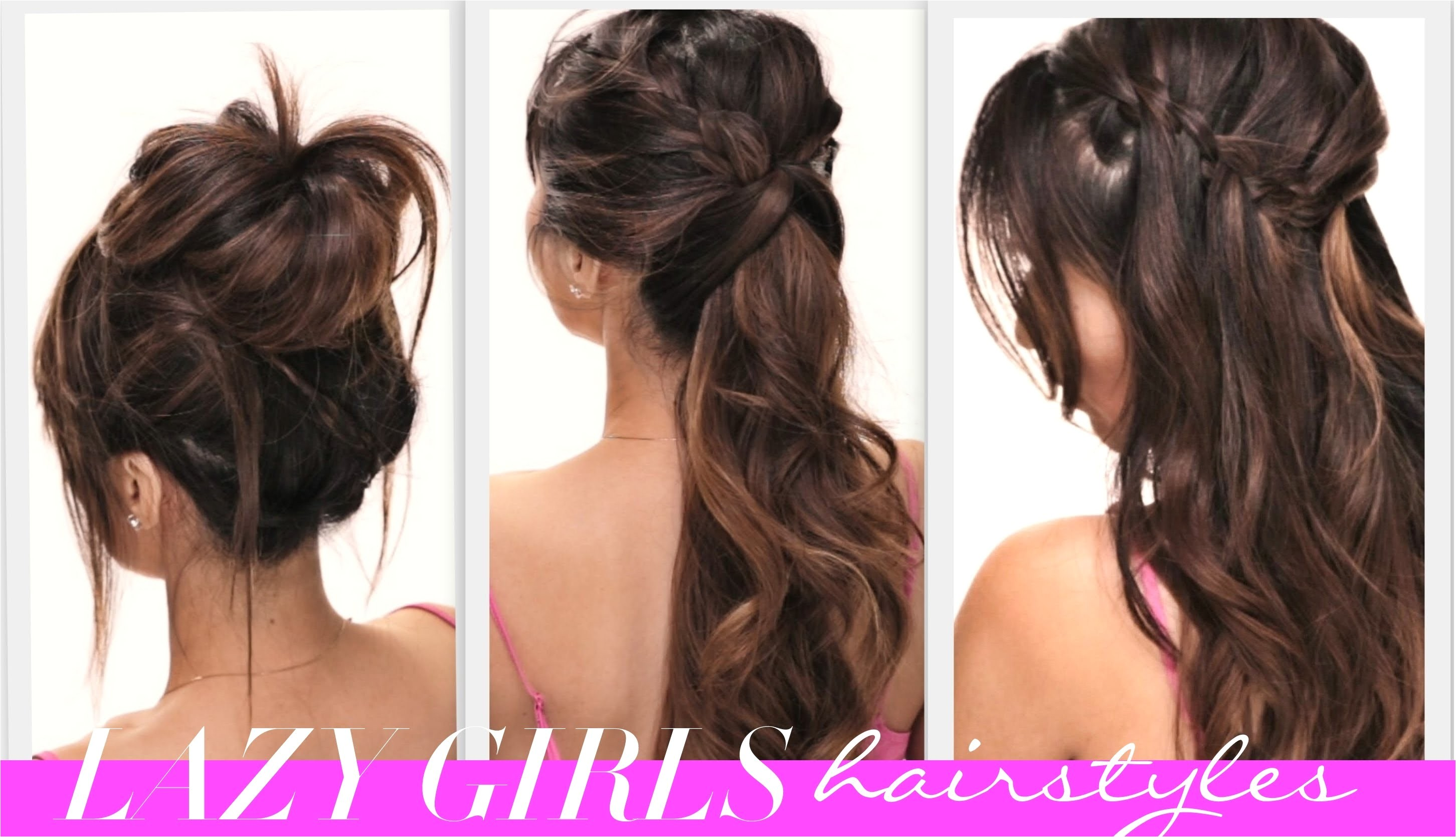 simple hairstyle for girls at home ideas