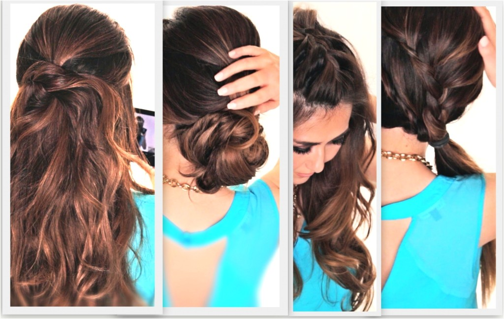 simple hairstyle for girls at home step by step