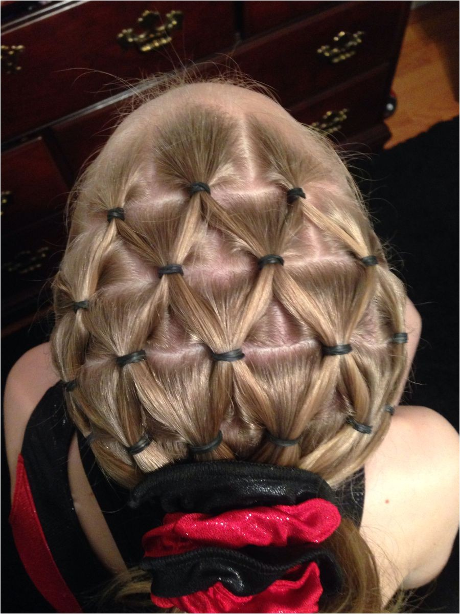 25 amazing funky gymnastics hairstyles to make feel more confidence