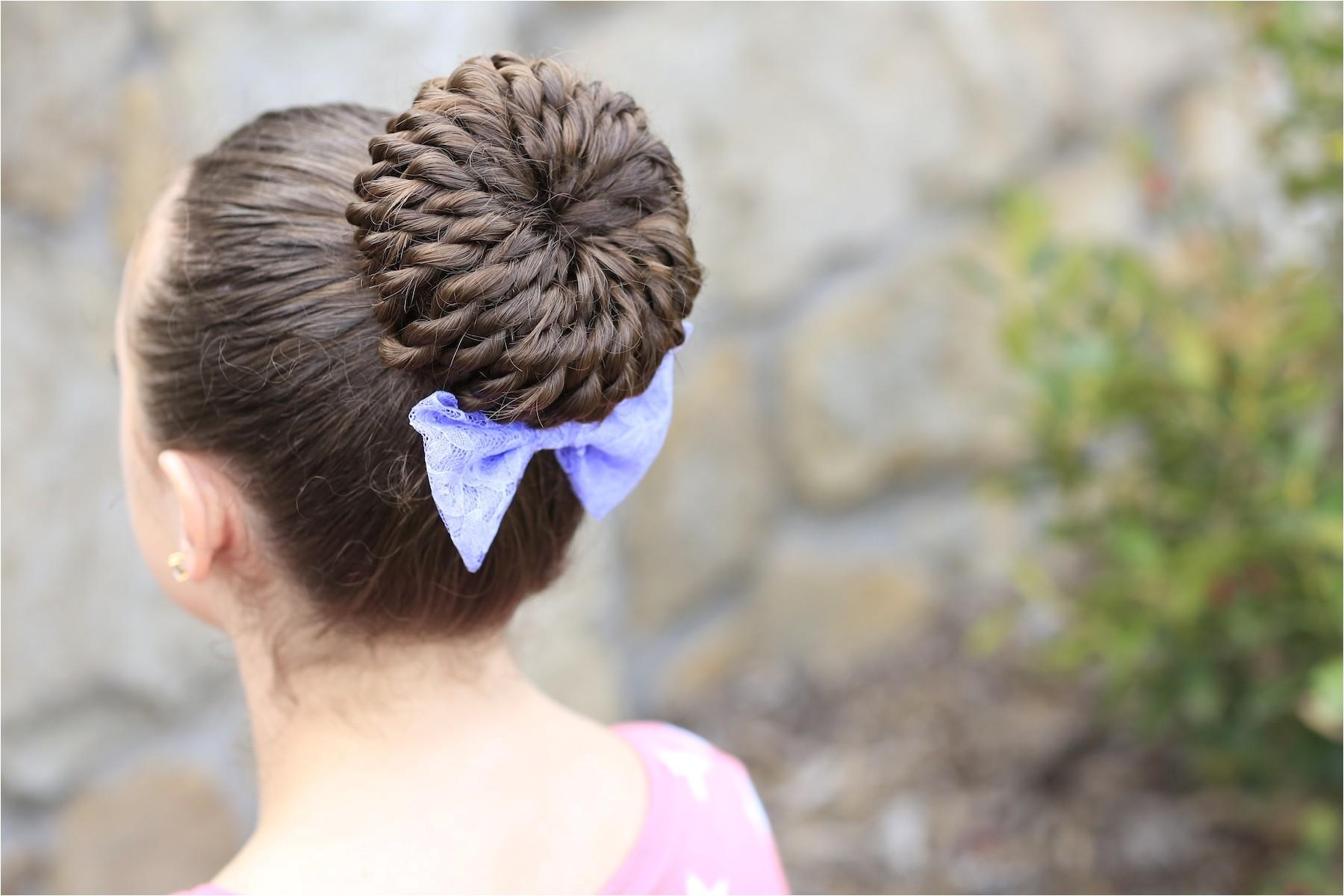 rope twist pinwheel bun prom hairstyles