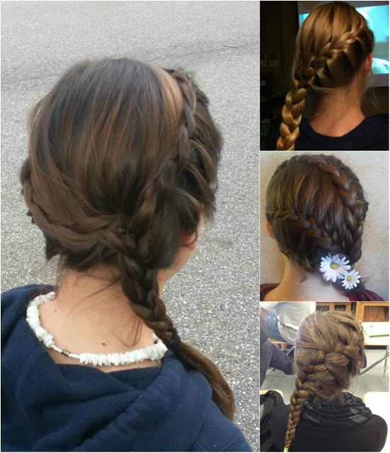 5 minutes cute daily hairstyles with long hair extensions blog88