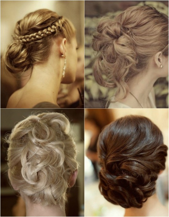 ombre color hairstyle in autumn