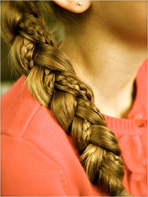 easy hairstyles for long hair to do yourself for kids