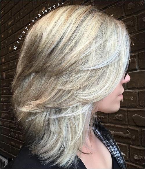 Easy Hairstyles for Layered Medium Length Hair 1