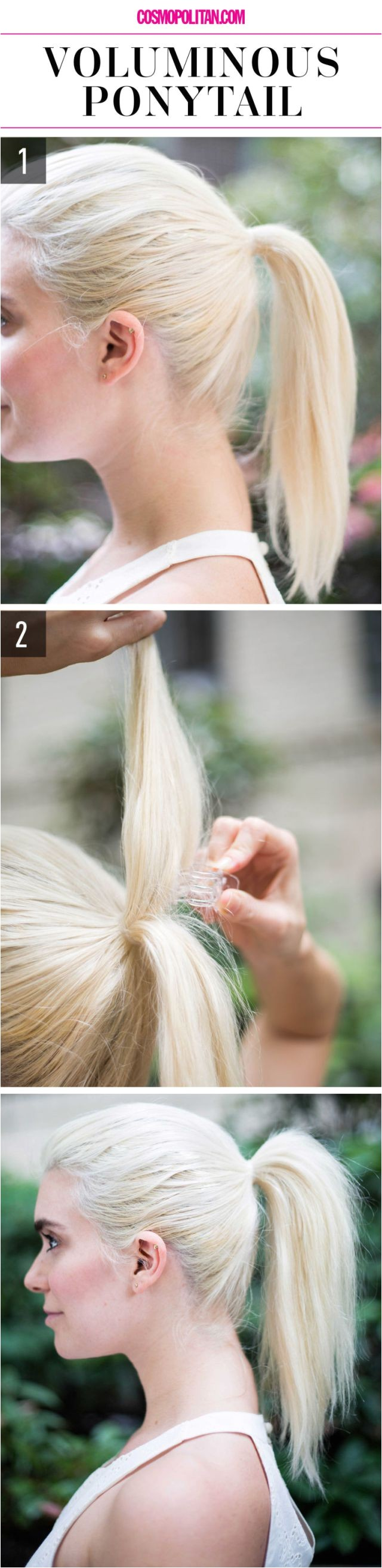 15 super easy hairstyles for lazy girl re blog from cosmopolitan