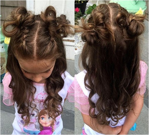 20 cool hairstyles for little girls on any occasion