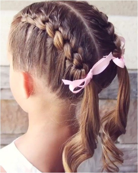 easy girl hairstyles for long hair