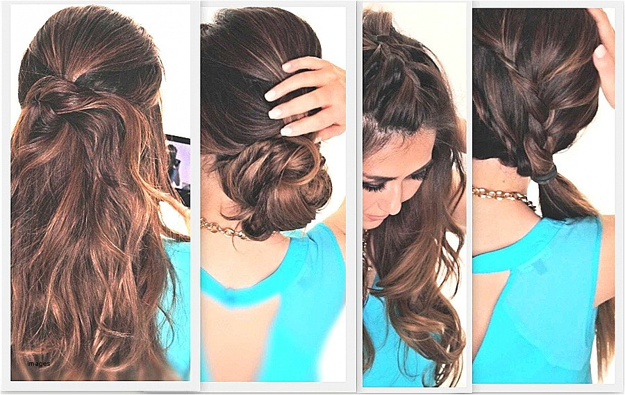 easy hairstyles for long curly hair to do at home