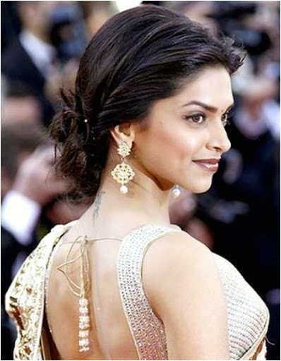 cute celebrities inspired hairstyles to wear with saree