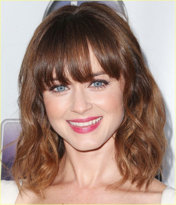 easy hairstyles with bangs 2
