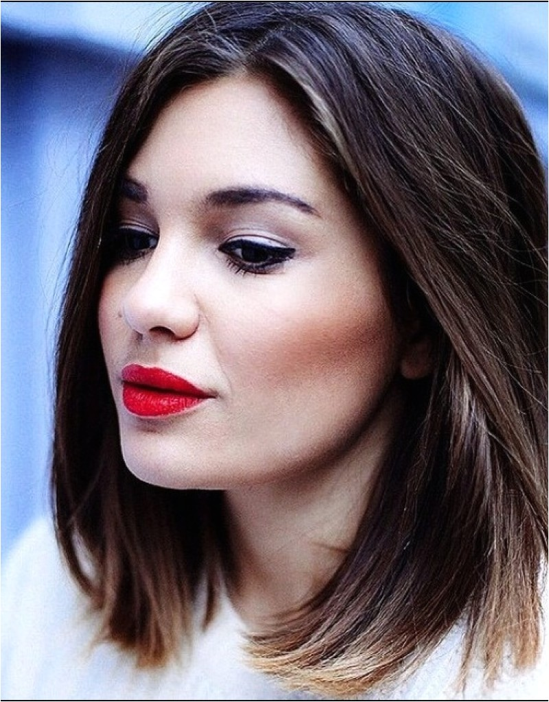 easy hairstyles for medium thick layered hair