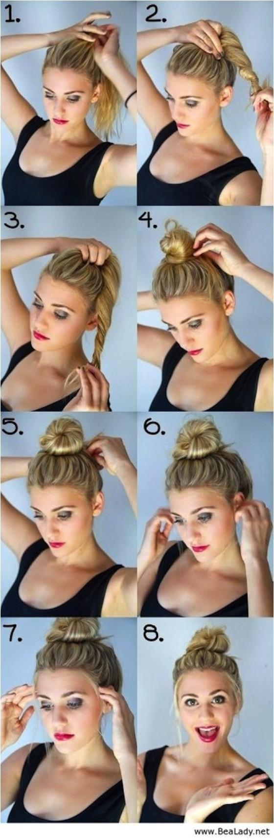 easy hairstyles braids tutorials medium length hair