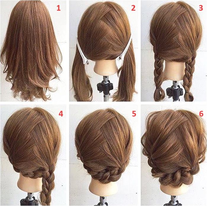 Easy Hairstyles for Medium Length Hair Step by Step Easy Step by Step Hairstyles for Medium Hair
