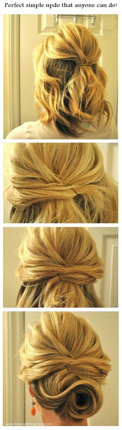 step by step hairstyles for medium length hair