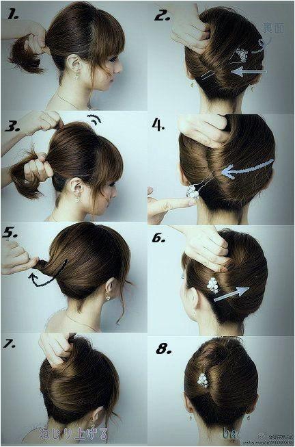 16 beautifully chic wedding hairstyles medium hair