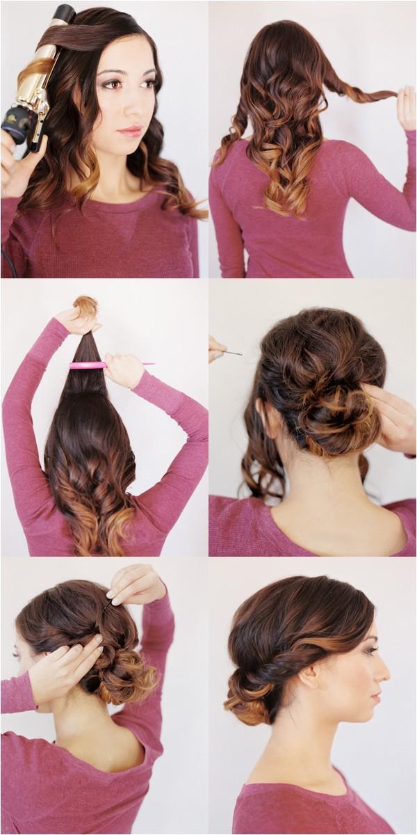 wedding hairstyles for medium hair tutorial