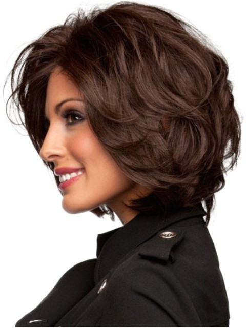 medium layered hairstyles wigs